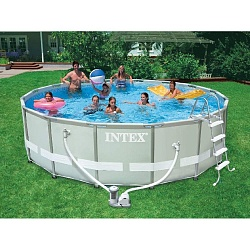 Каркасный бассейн Intex Prism Frame Pool 28726 (366X122 см)