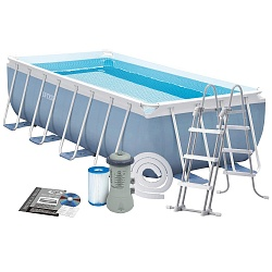 Каркасный бассейн Intex Prism Frame Pool 400x200x100 см  28316 (28350)