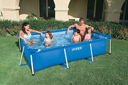 Каркасный бассейн Intex Metal Frame Pool 220x150x60 28270 (58983)