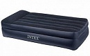 Надувная кровать Intex Pillow Rest Raised Bed 99x191x47 66721