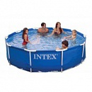 Каркасный бассейн Intex Metal Frame Pool 28200 (56997)  (305х76 см)