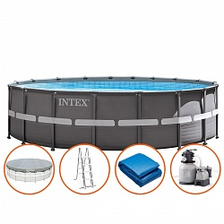 Каркасный бассейн Intex Ultra XTR Frame Pool 26330 (28332) (549х132 см)